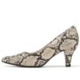 Kép 1/4 - Piccadilly kígyóbőr kényelmes alkalmi cipő