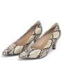 Kép 3/4 - Piccadilly kígyóbőr kényelmes alkalmi cipő