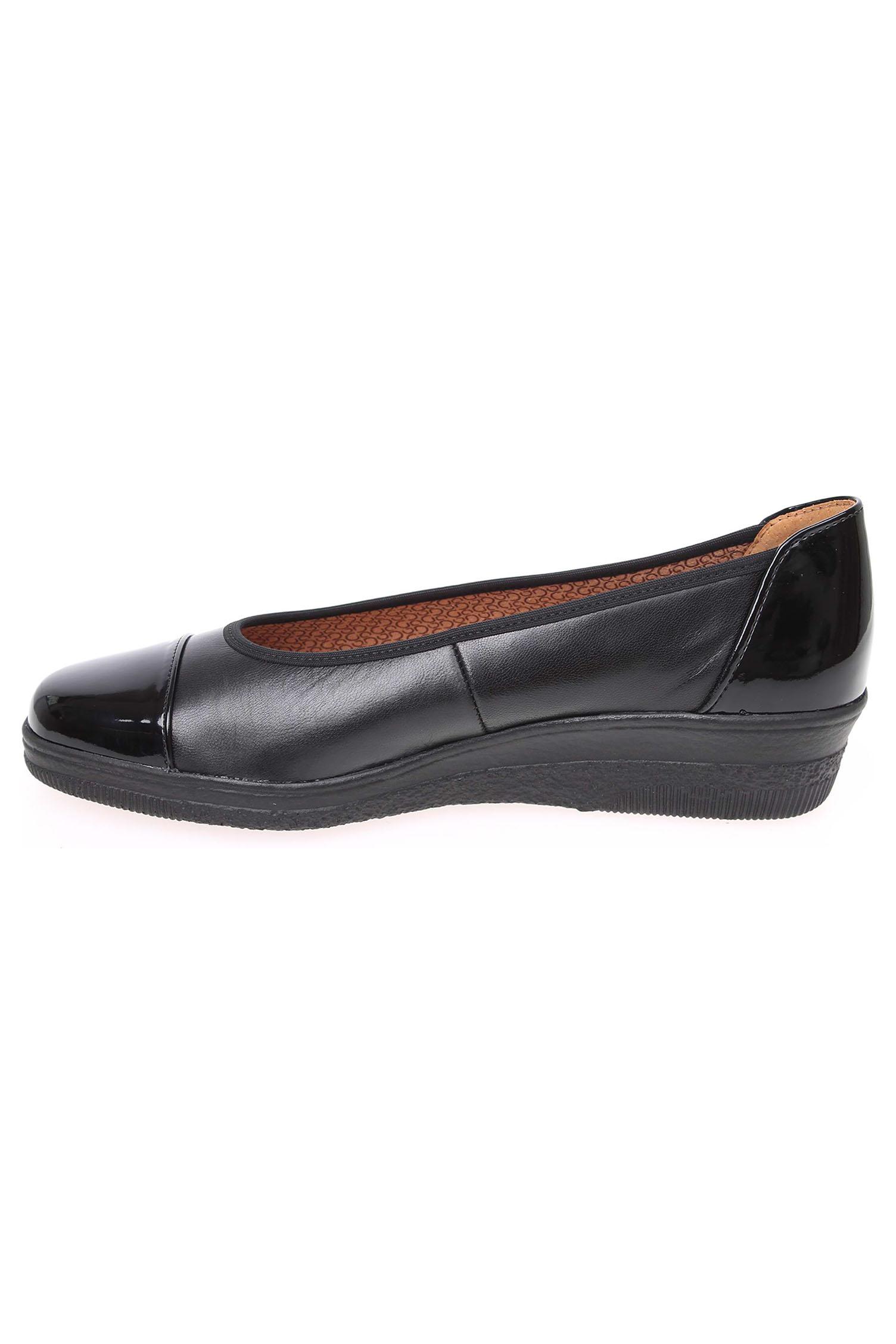 Gabor fekete cipő lakk betétekkel - 42 1 2 - Óriás-Shop nagyméretű férfi  ruhák és női edfe39e673